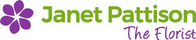 Janet Pattison The Florist Logo
