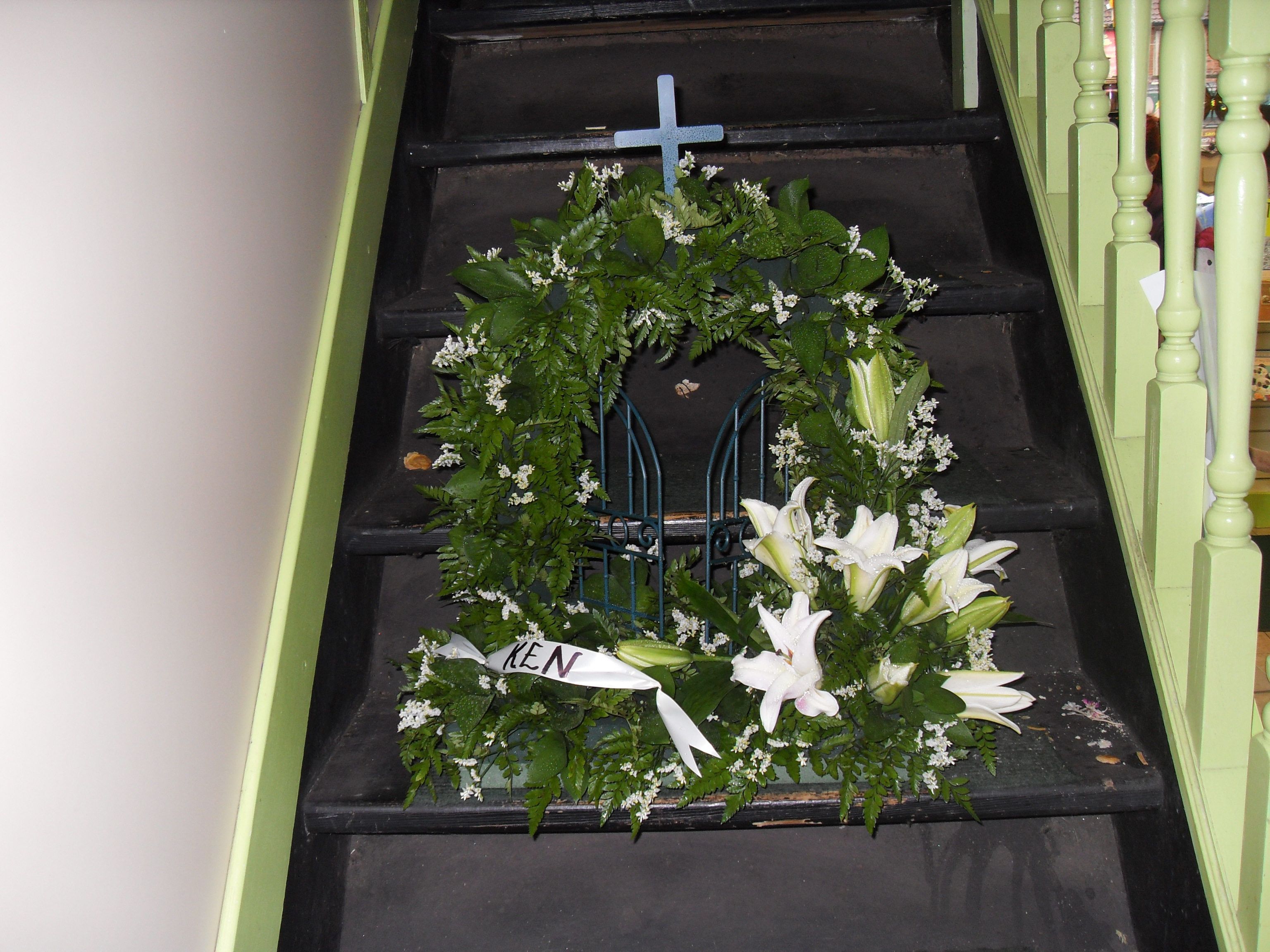 Funeral Tribute Gates Of Heaven Janet Pattison The Florist Hull
